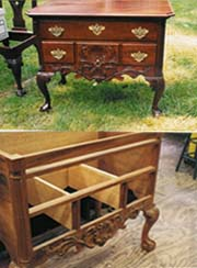 Chippendale Dressing Table, Philadelphia